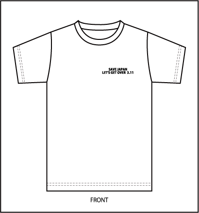 チャリティーTシャツ-前.png