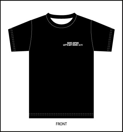 チャリティーTシャツBK-前.png